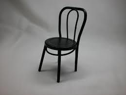 Bistro stoel Zwart HOXY781S