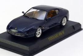 Ferrari 456 M d.blauw (90114)