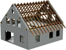 1/87 Prefabricated house constructionset
