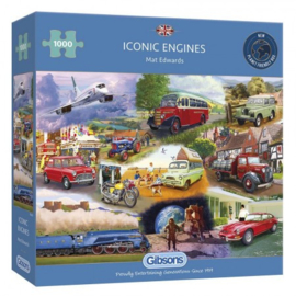 Iconic Engines (1000) G6293
