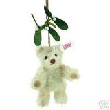 Steiff Bear with Mistleto EAN 037610