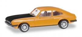 Ford Capri RS, oranje/zwart 1:87 H28509
