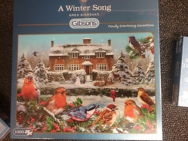 G6199  A Winter Song. 1000 stukjes