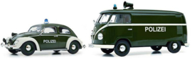 VW Kever & VW T1 Polizei 1:32 MHI (S07744)