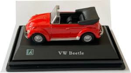 VW Beetle Cabrio rood Car711ND