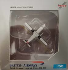 British Airways/Loganair Shorts 360-300 H50521