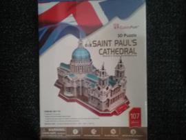 Saint Paul's Cathedraal. 3D (107stukjes). MC117H