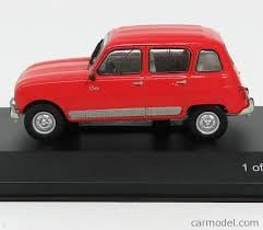 Renault 4 Clan, rood 1:43 WB270