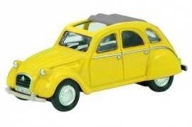 Citroën 2CV yellow 1:87 Sch26099