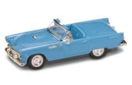 94243bl. Ford Thunderbird 1955 1:43