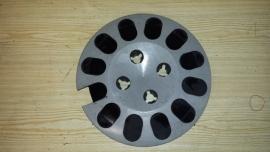 Wieldop eierdop zwarte vakjes