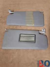 Sunvisor set BX sunroof