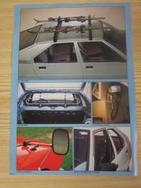 Folder accessoires Citroen BX
