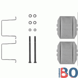 Brake clip set BX rear