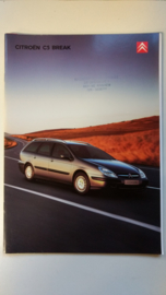 Citroen C5 Break 2001 plus prijslijst