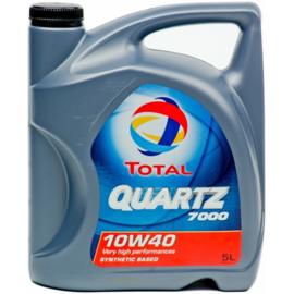 Total 10W40 5L Quartz 7000 Motor oil