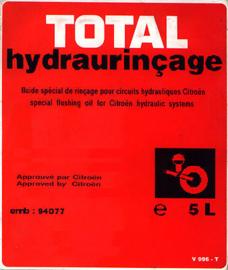 Hydraurincage Total a 5 liter BNL9945914