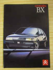 Folder Citroen BX type 3