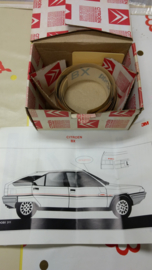 NOS stickers voor een Citroen BX Progress