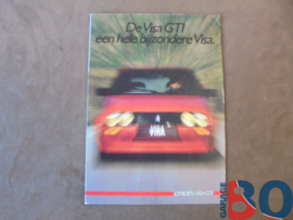 Folder citroën Visa Gti