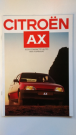 Citroen AX Een compacte auto van formaat