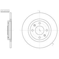 Remschijven set Voor Citroen BX