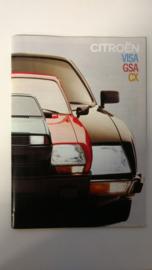 Citroen GS, Visa en CX