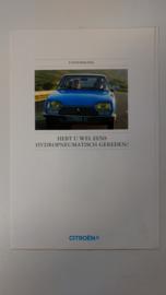 Uitnodiging proefrijden in een Citroen GS