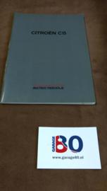 Instructieboekje Citroen C15
