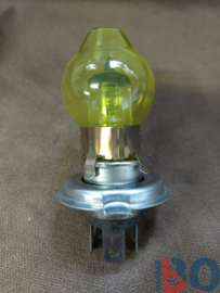 Yellow cap H4 lights with H4 55/60 watt set of 2