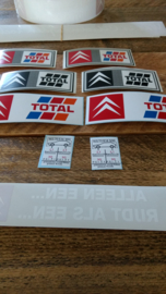 Citroen BX stickers