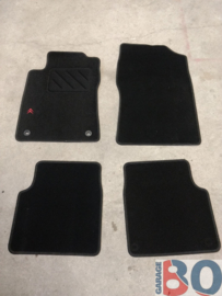 Car mats for a Citroen XM