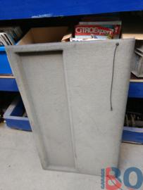 Parcel shelf grey