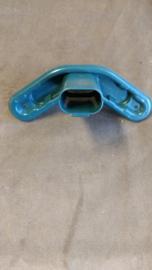 Headrest clamp bleu