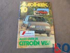 Autotheek info boekje visa