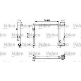 Radiateur Citroen BX 1.6 (klein)