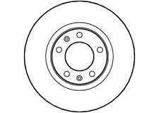 Brake discs front XM set 95661813