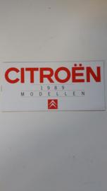 Citroen Modellen 1989