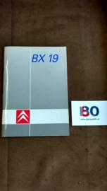 Instructieboekje Citroen BX 19