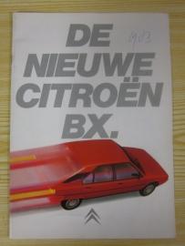 Citroen BX folder 1983
