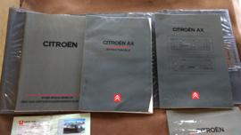 Mapje met instructieboekjes Citroen AX