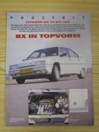 Test Citroen BX GTI Autokampioen
