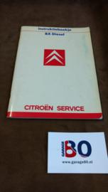 Instructieboekje Citroen BX diesel 1987