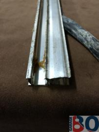Raamgeleider BX aluminium achterzijde