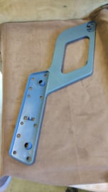 Doorhandle trim right blue