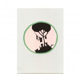 postkaart 'Wassen'