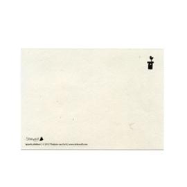 postkaart 'Appels plukken'
