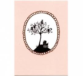 Vogelhuisjesboom