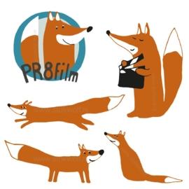 Logo en illustration PR8film (2015)