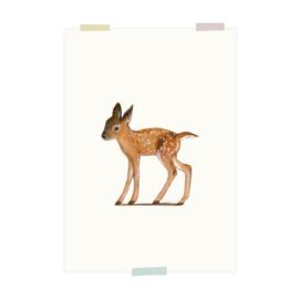 print | Young deer